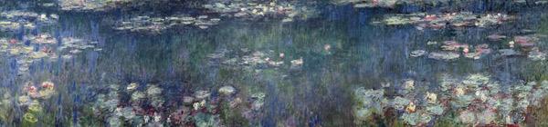 Waterlilies-Green-Reflections